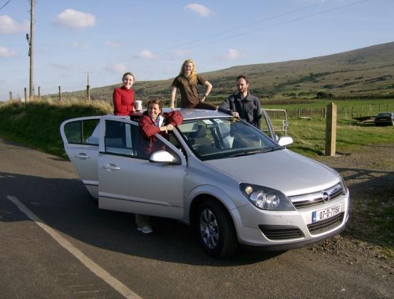 Rental car for a week