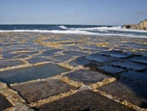 Salt pans in Xwieni Bay - Gozo