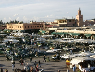 DJemaa el-Fna, Marrakesh, Morocco