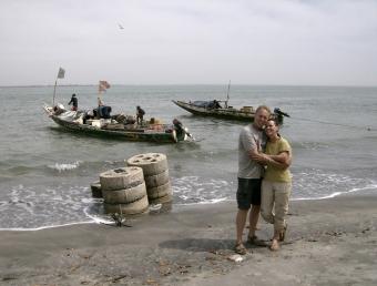 Bakau beach, The Gambia