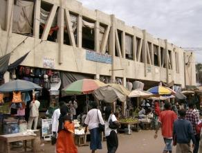 Serrekunda market, Gambia