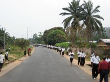 University students Bujumbura, Burundi