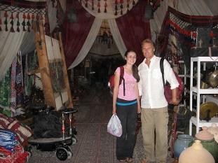 On set Cairo, Egypt