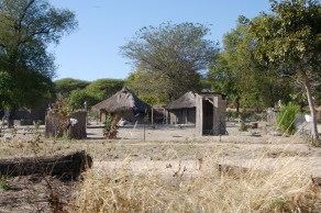 VIllage life in Botswana