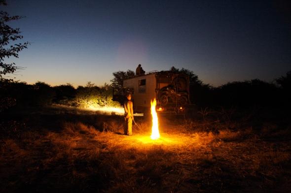 Campfire, Botswana