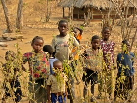 children of Zambia
