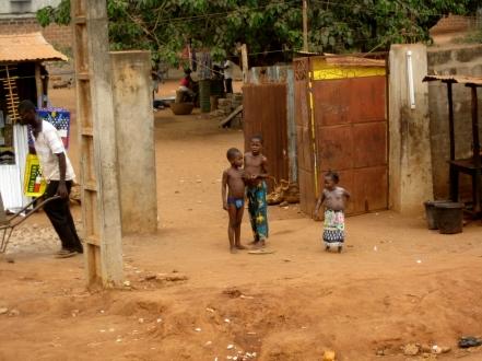 childrenn Benin