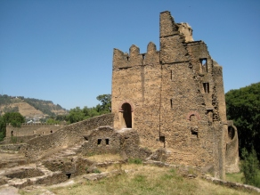 Overlanding through Ethiopia, Gondar