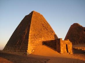 Meroe Pyramids, Sudan