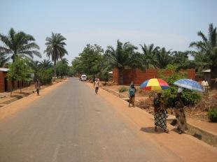 street of Burundi