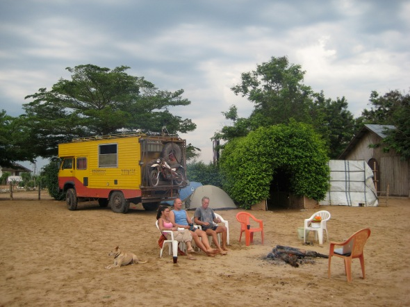 Camping in Bujumbura, Burundi