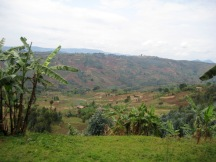 countryside of Burundi