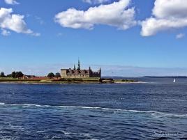Leaving Denmark heading to Sweden via Car Ferry.
