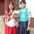 KOREA, Seoul - school girls