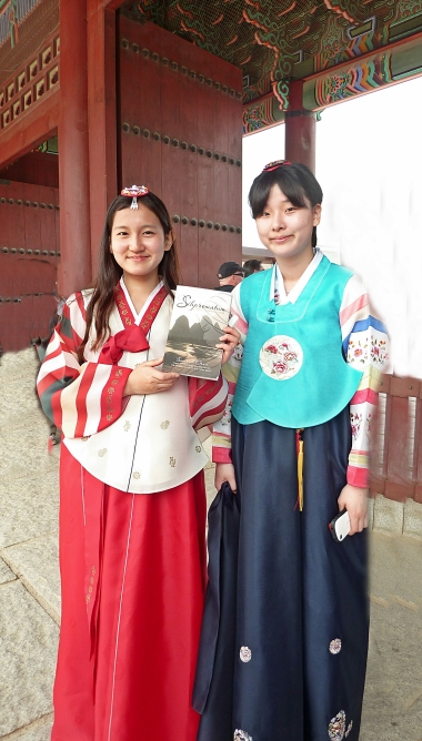 KOREA, Seoul - school girls