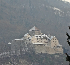 Lichtenstein Castle - Vaduz