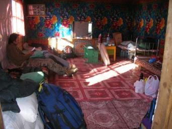 Communal bedroom.