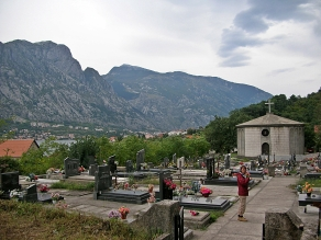 Graveyard, outside Kotor