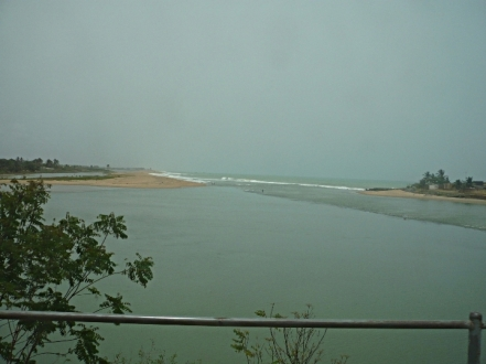 On the coast of Benin