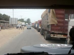 many trucks, Benin