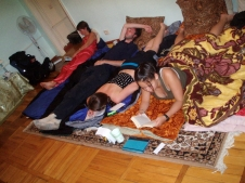 Thankful for the floor - Chisinau