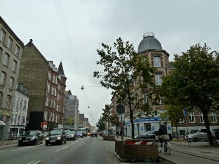 A drive through Copenhagen
