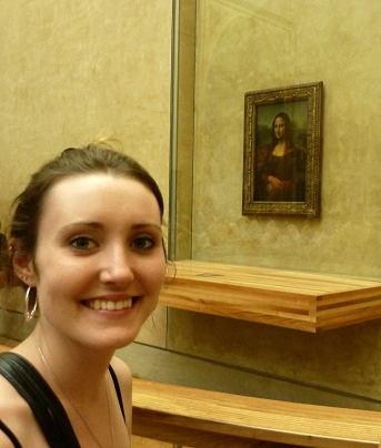 with the Mona Lisa