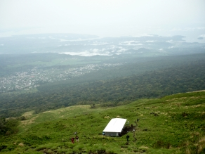 half way hut, Mt Cameroon hiking, Cameroon