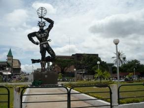 Statue De La Nouvelle Liberte, Douala, Cameroon