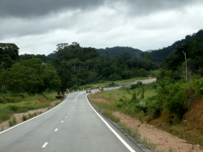 Overlanding through Gabon,