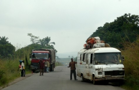 overland trip, Democratic Republic of the Congo