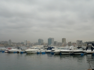Harbour of Luanda , Angola