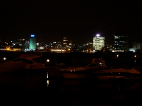 Luanda by night. Angola