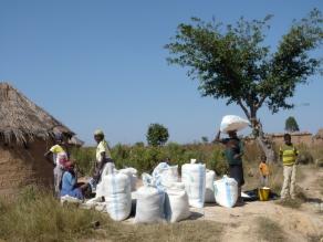 village life, Angola
