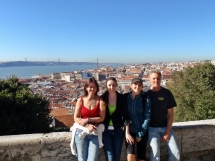 View from Castelo De Sao Jorge