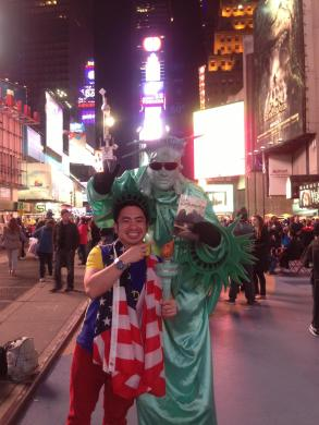 USA, Time Square