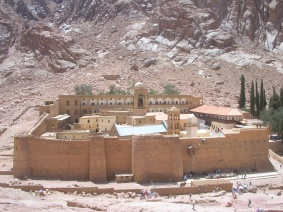 St Catherines Monastery - Mt. Sina, Egypt