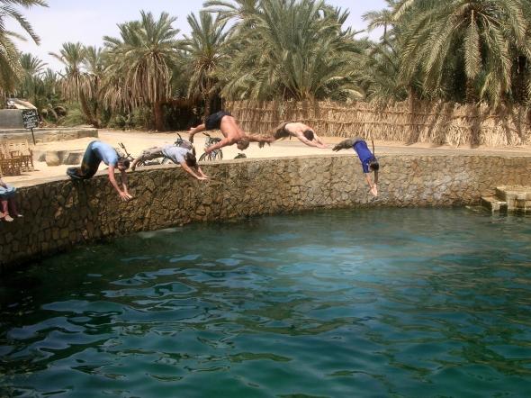 Cleopatra Pool, Siwa, Egypt