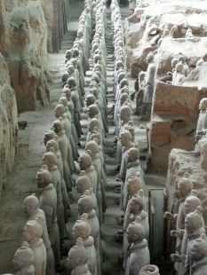 Ya, these are Terracotta Warriors!