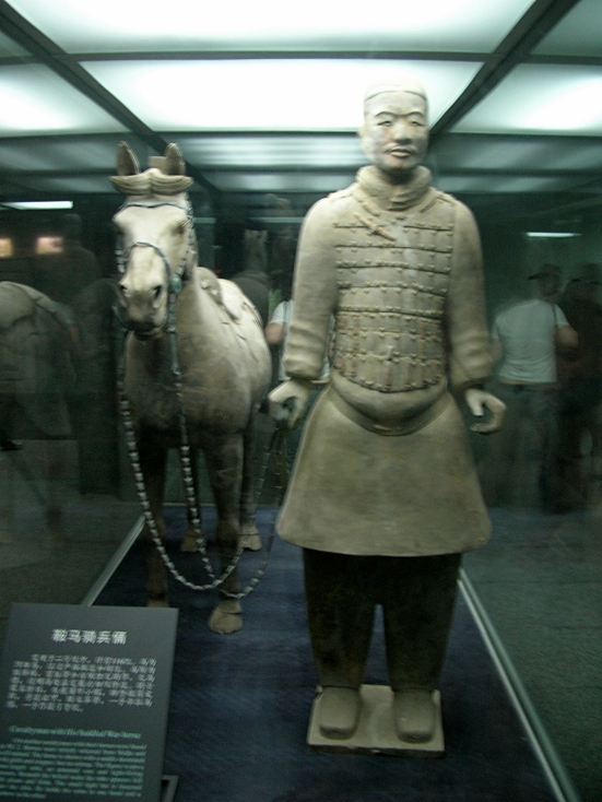 """Every single man was given different armour and features."" Terracotta Warriors, Xi'an"