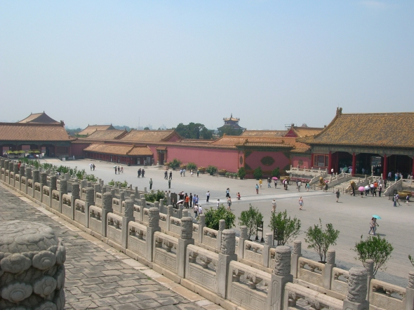 "The Forbidden City was a palace used by emperors and their households for five hundred years. No one other than servants and lovers could ever enter, hence the name ""Forbidden."""