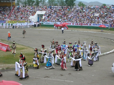 It was hot when we arrived at the National Sports Stadium where the rest of the three-day festival was held.