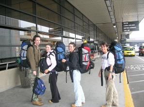 Sea Tac Airport, Backpacks and Bra Straps Chapter 1