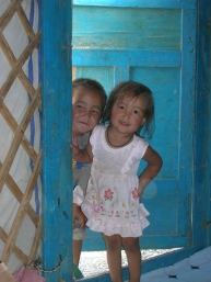 Mongolian Children. Backpacks and Bra Straps ch 2