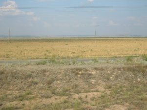 On our way to Semey, Kazahstan. Backpacks and Bra Straps ch 5