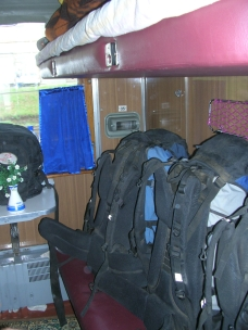 Train travel, Russia, Backpacks and Bra Straps Chapter 1