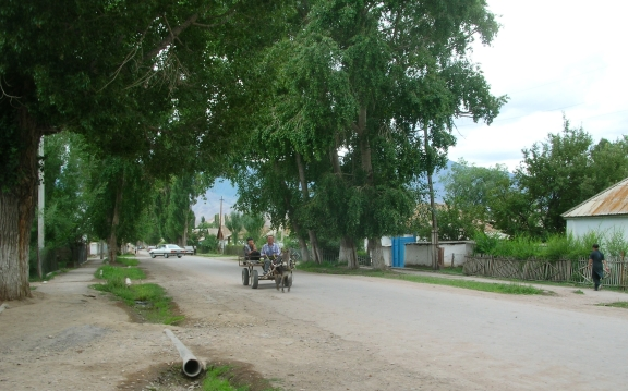 Kyrsgyzstan small town