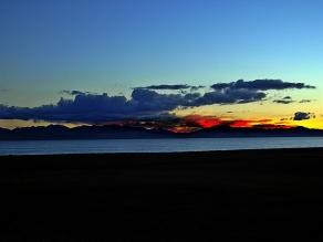 sunset Song Kol, Kyrgystan
