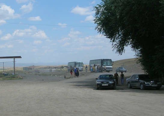 On our way to Semey, Kazakhstan. Backpacks and Bra Straps ch 5