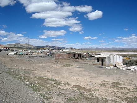 heading to tibet Western China